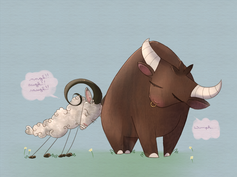ox and sheep relationship