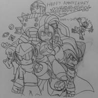 Happy 30th Anniversary Megaman!