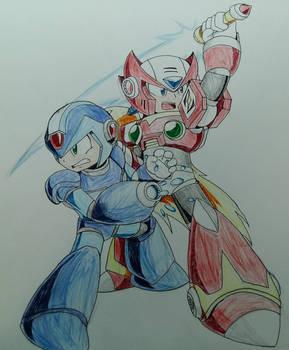 MegaMan X 25th Anniversary : X and Zero
