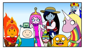 Adventure Time Forever(Colored)