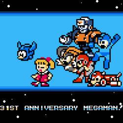 Happy 31st Anniversary Megaman!