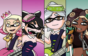 Now or Never!(Squid Sisters and Off The Hook) by hansungkee