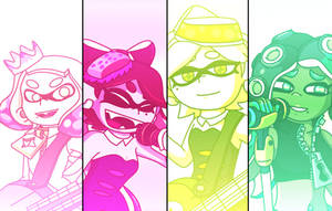 Now or Never!(Squid Sisters and Off The Hook,Neon) by hansungkee