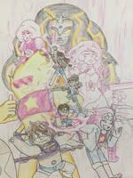 Fusion Gems of Steven Universe!