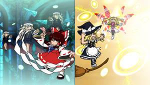 Protagonist of Touhou vs Villains of RKS