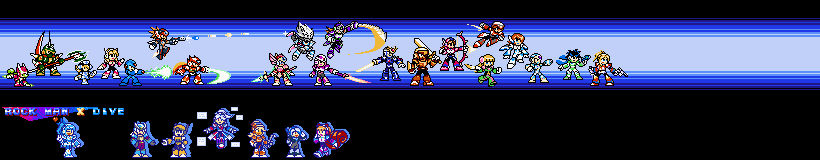 Rockman X Dive With Reploid ocs!