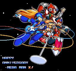 Mega Man X Legacy Collection(Soundtrack pixel art)