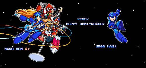 Happy Anniversary Megaman!(2019) by hansungkee