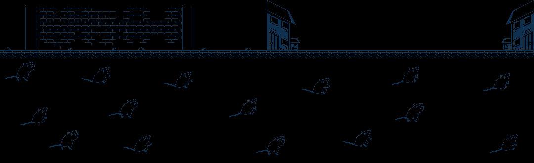 Years of Rat 2020 Pixel art