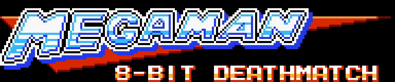 MegaMan 8 Bit Death Match Title (2020)