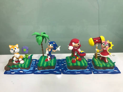 Clay Made : Team Sonic