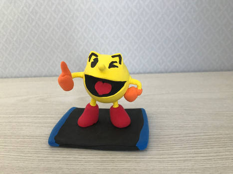 Clay Made : Pac man