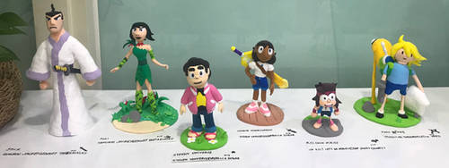 Clay Made : The Six Characters of Cartoon Network!