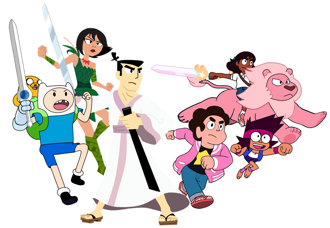 The 6 Cartoon Network Studios