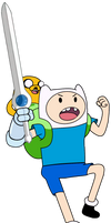 Finn The Human (With Jake The Dog)