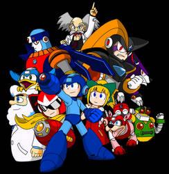 Happy 33rd anniversary Megaman!