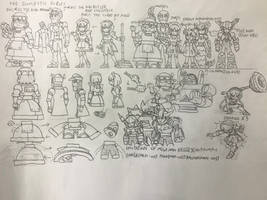 What If Domestic robots in game universe.