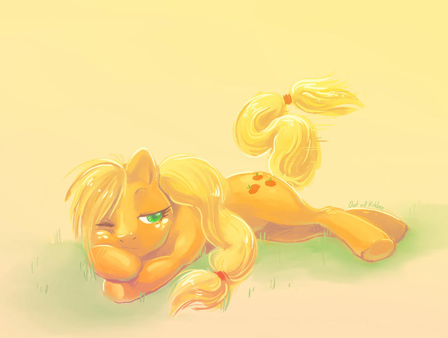 Applejack by OutOfKitchen
