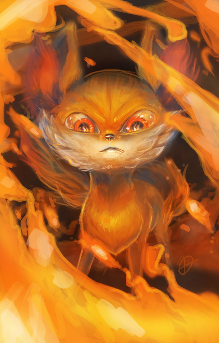 Fennekin by OutOfKitchen