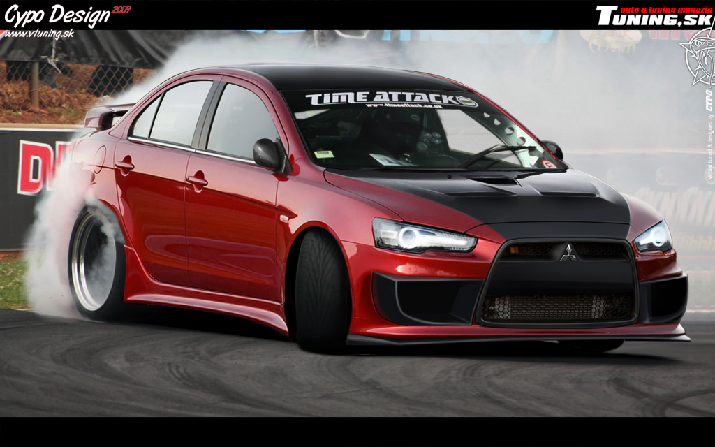 Mitsubishi Evolution X by CypoDesign