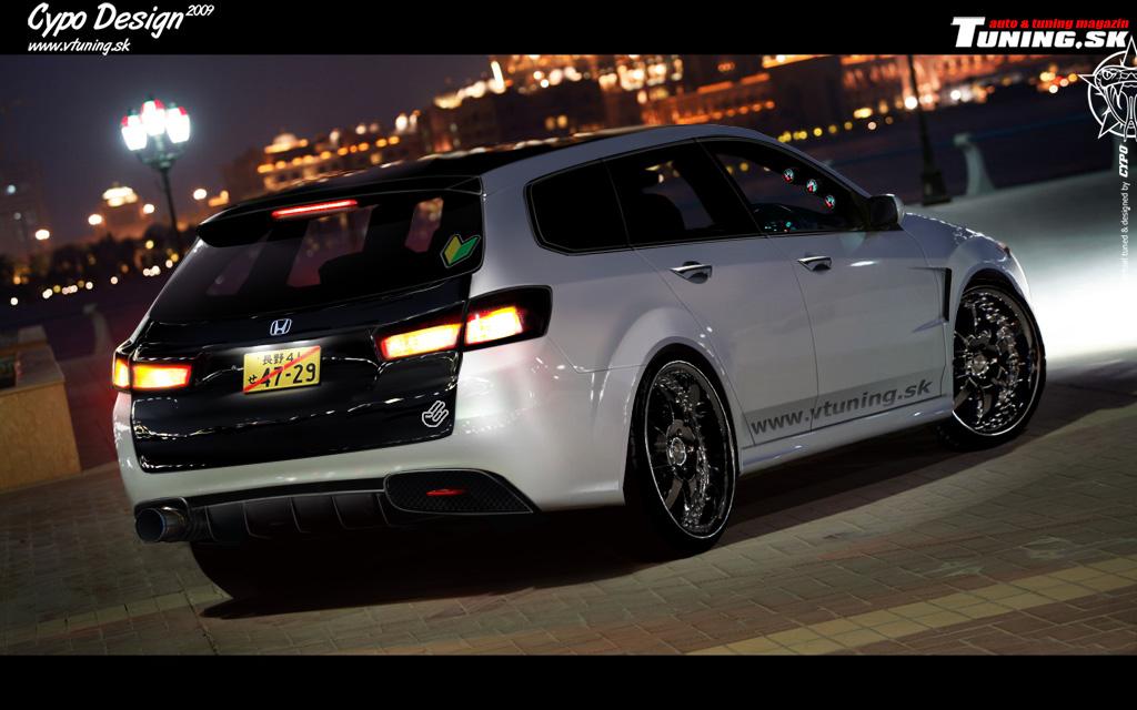 Honda Accord Tourer by CypoDesign on DeviantArt on