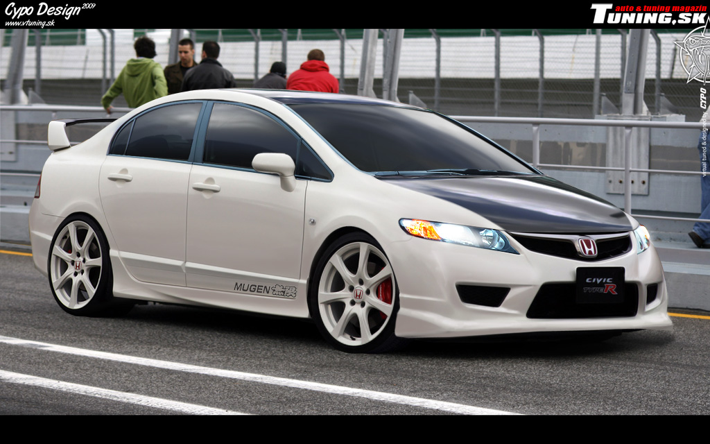 Honda Civic Type-R MUGEN by CypoDesign