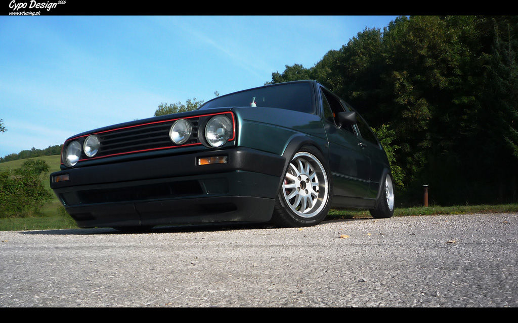 Volkswagen Golf II. by CypoDesign