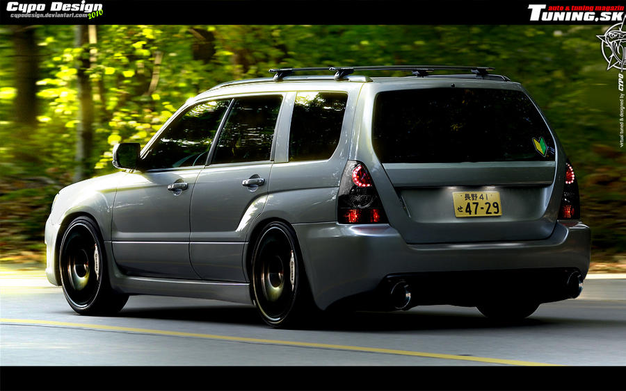 Subaru Forester by CypoDesign