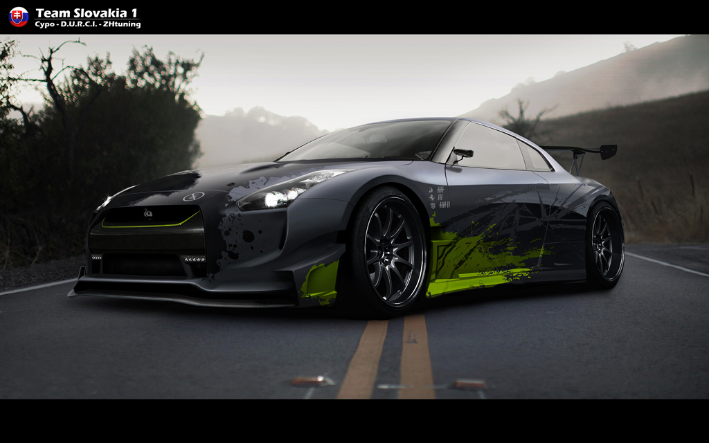 Nissan GT-R by CypoDesign