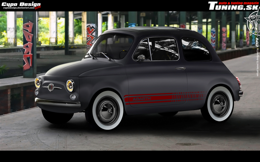 Fiat 500 by CypoDesign