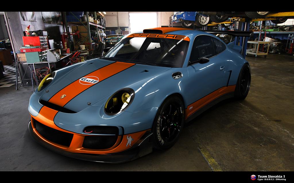 Porsche911 GT3- team SLOVAKIA1 by CypoDesign
