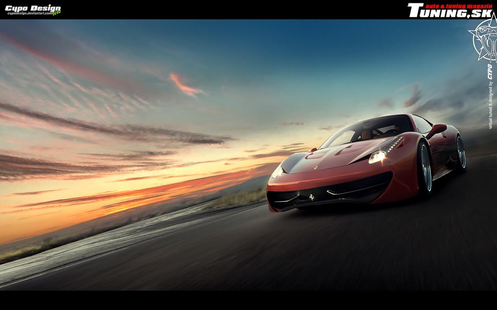 Ferrari 458 Italia by CypoDesign