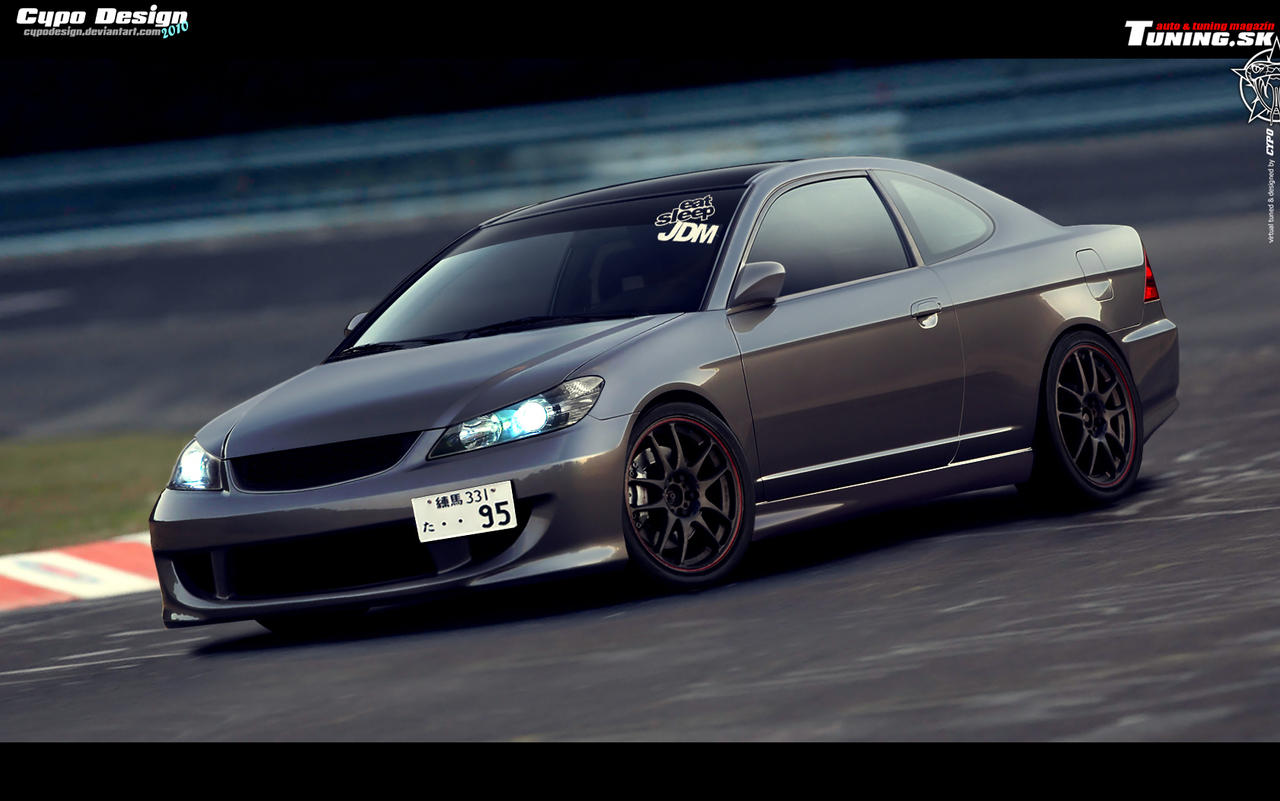 Honda Civic 7G Coupe by