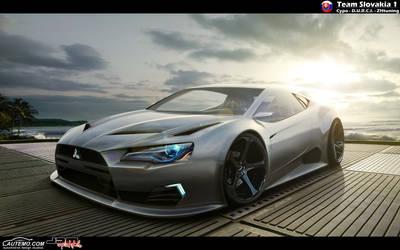 Mitsubishi rEvolution by CypoDesign