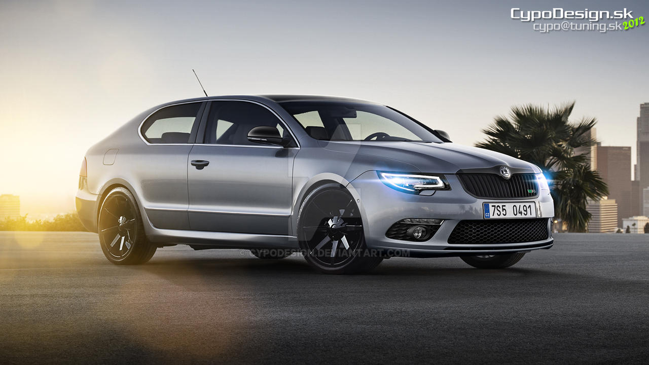 Skoda SuperB RS Coupe by CypoDesign