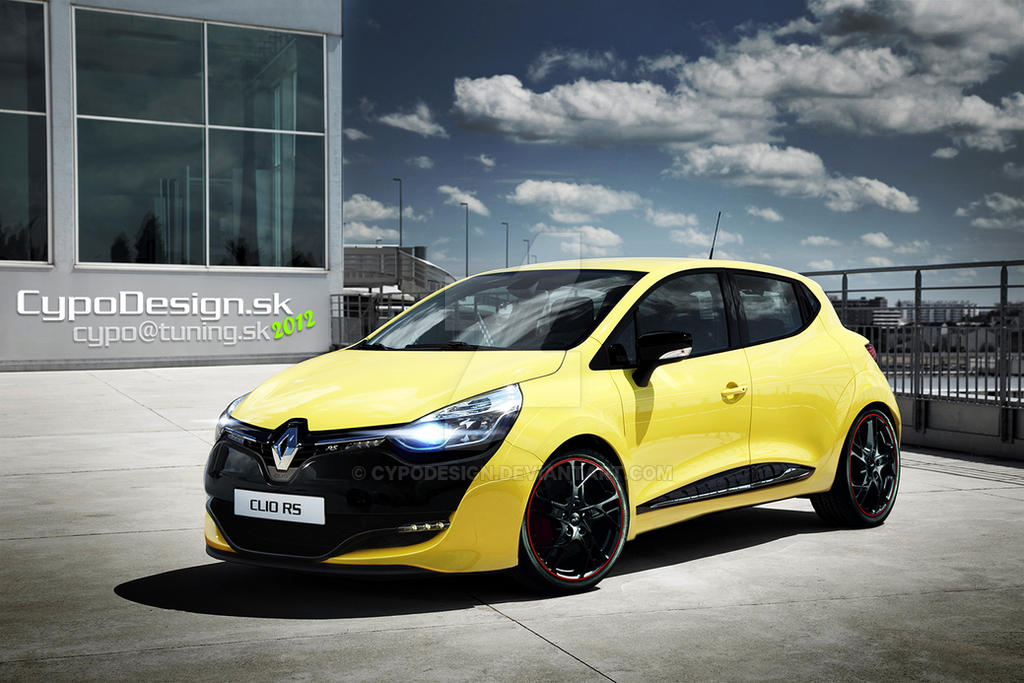 Renault Clio RS 2013 by CypoDesign