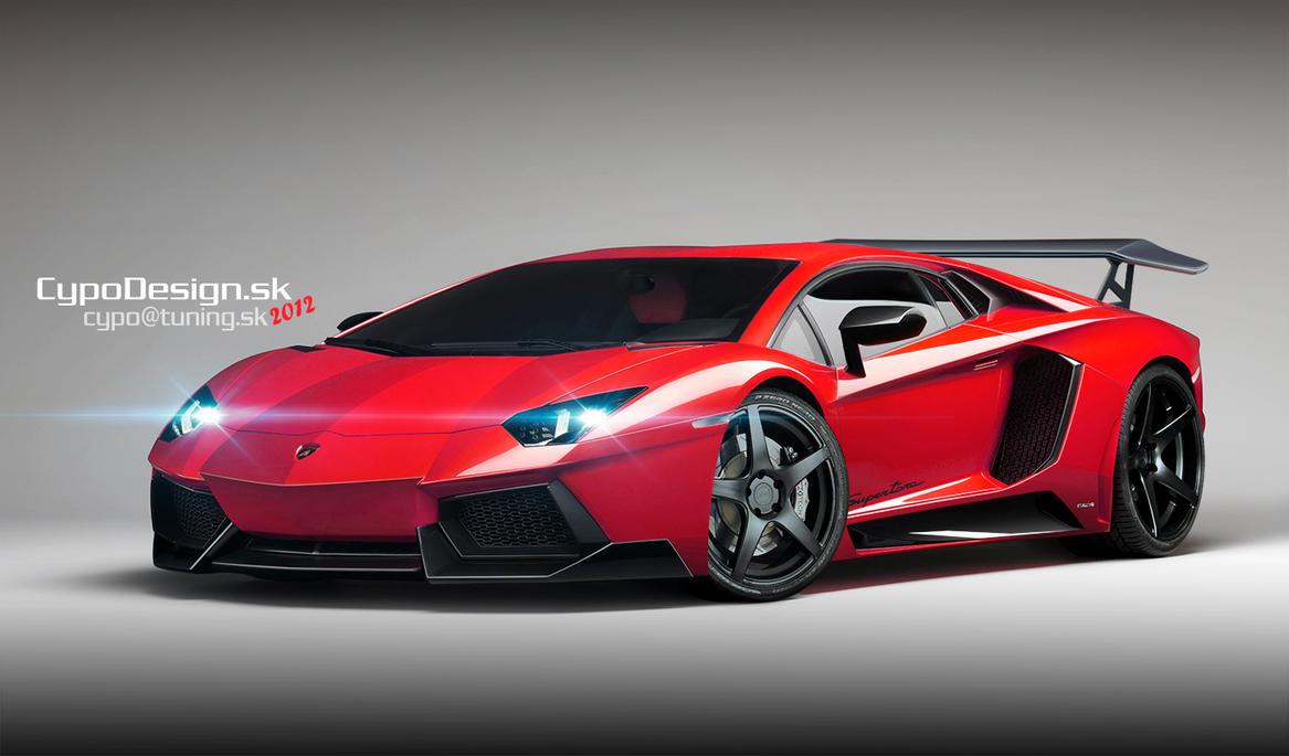 Lamborghini Aventador Supertoro by CypoDesign