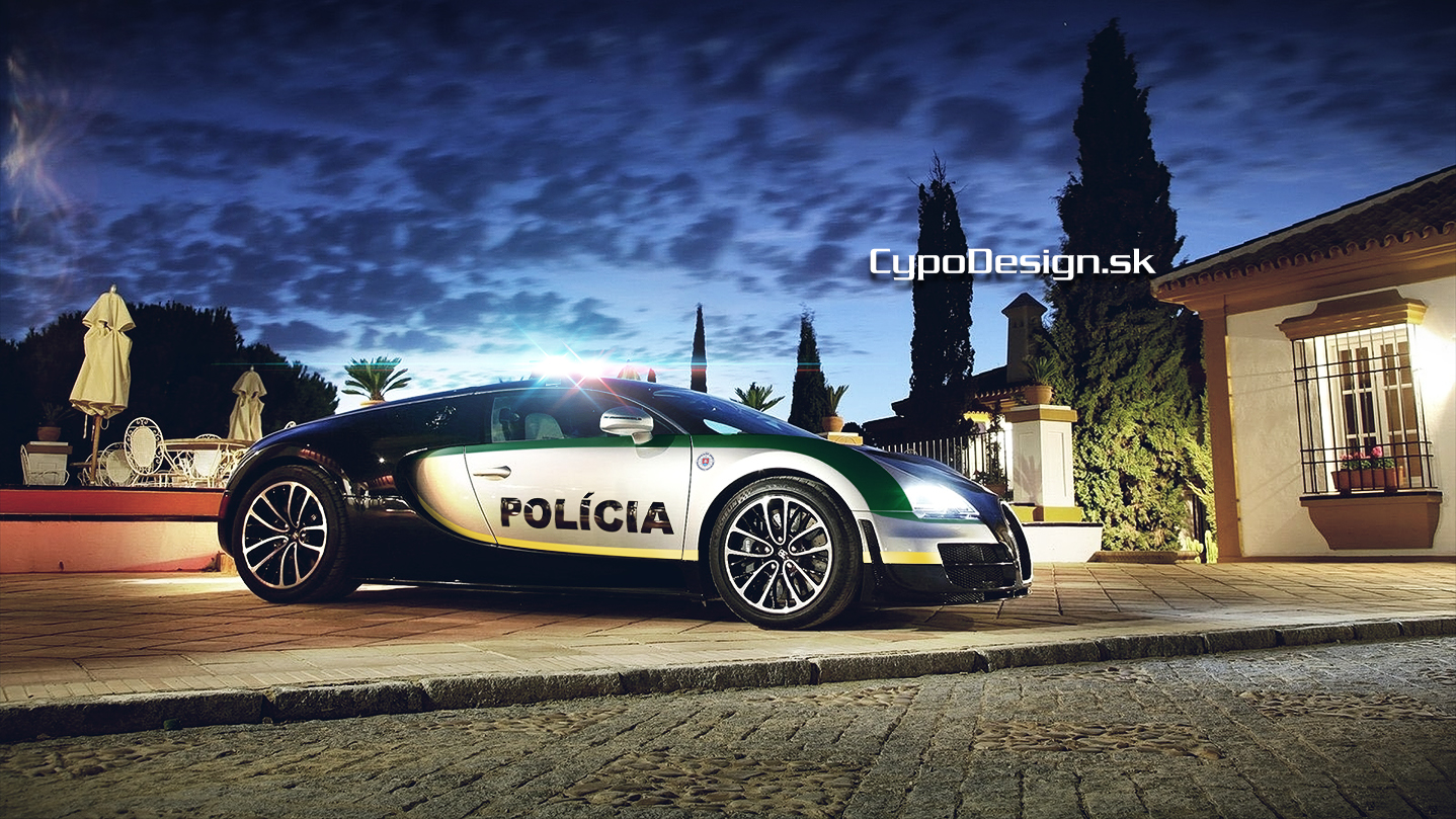 Bugatti Veyron Police Department by CypoDesign