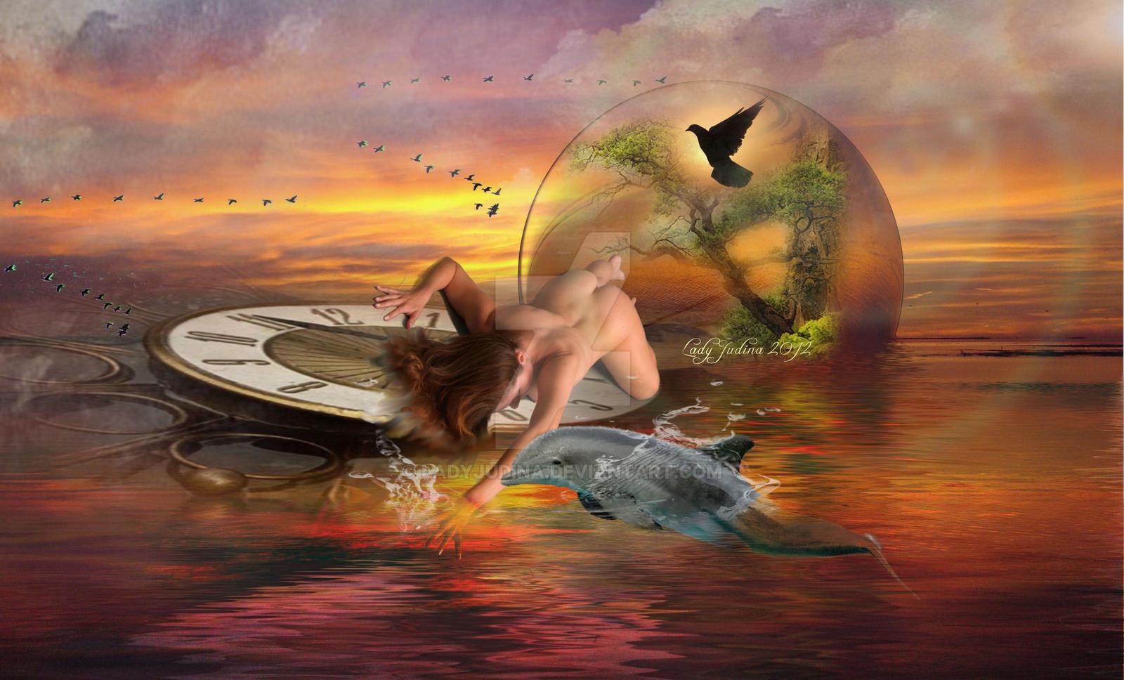 Delfin , es a lany by ladyjudina