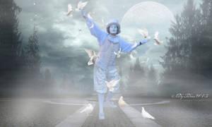 The pantomime and doves-A pantomim es a galambok