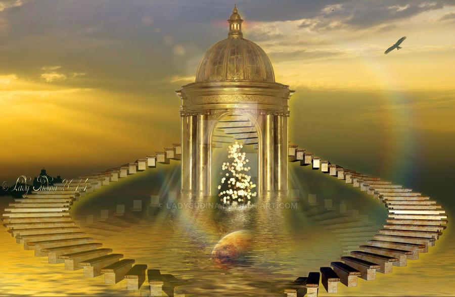 Golden dom IV by ladyjudina