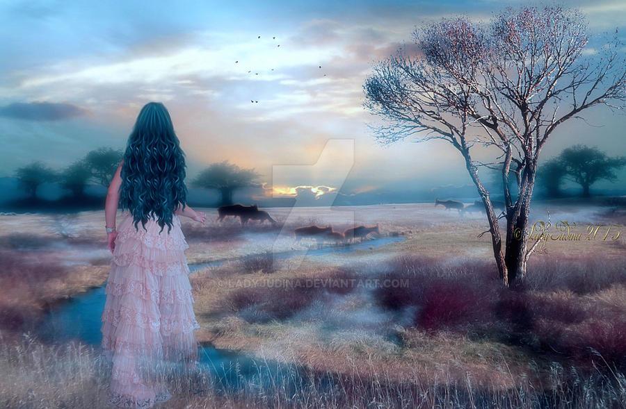 Misty twilight