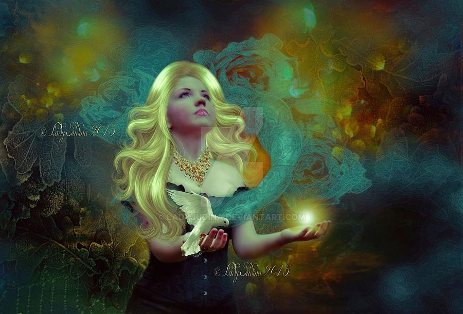 Magical lights by ladyjudina