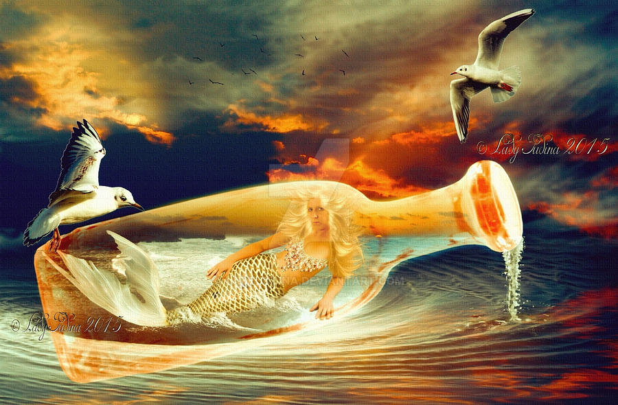 Mermaid 6 by ladyjudina