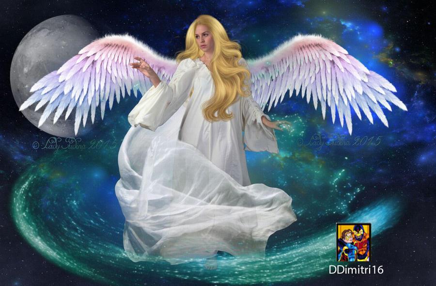 The guardian angel by ladyjudina