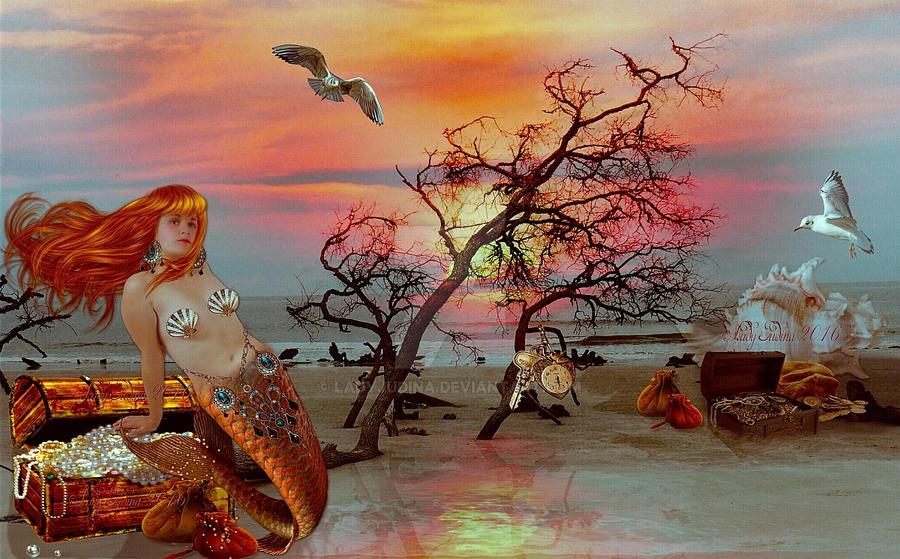 Old Beach by ladyjudina