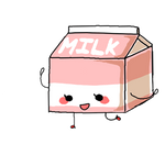 strawberry milk by LiLMissBossy