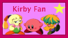 Kirby Fan Stamp by KirbyMLPPokemonfan1