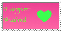 I support Autism Stamp by xXTuff-PegasisterXx