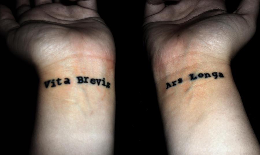 Vita brevis ars longa by shadowkeeper1327 on deviantart for Vita brevis ars longa tattoo